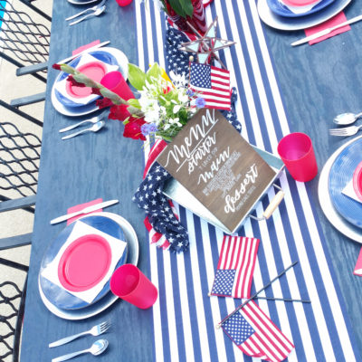 Fourth of July Table Inspiration