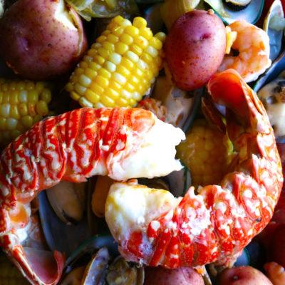 Stovetop Lobster Bake