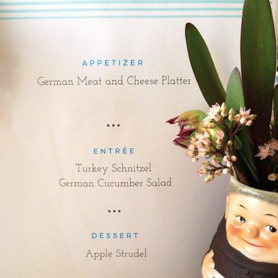 Oktoberfest Menu Ideas