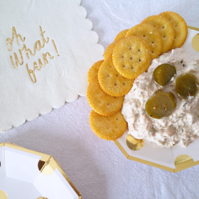 Quick Spicy Pickle Dip