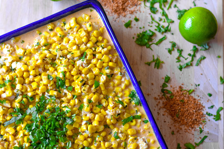 Mexican Street Corn | Why wait to go to the streets of mexico when you can make this delicious street food at home | SavorParadise.com