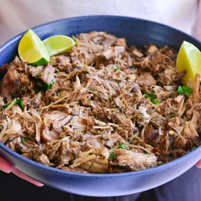 Carnitas Tacos (Mexican Slow Cooker Pulled Pork)