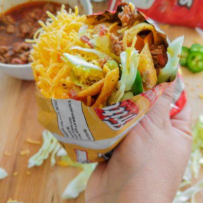 Easy Walking Tacos