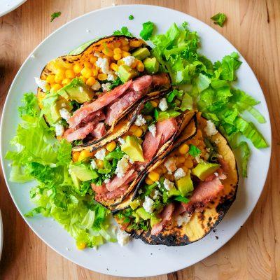 Leftover Ham Tacos
