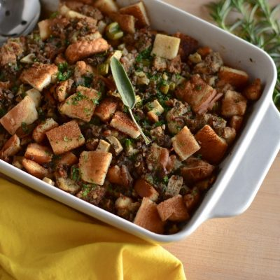 Sage, Apple and Pecan Stuffing