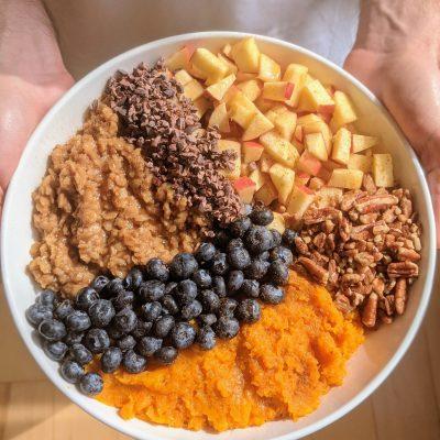 Sweet Potato Oatmeal Bowl