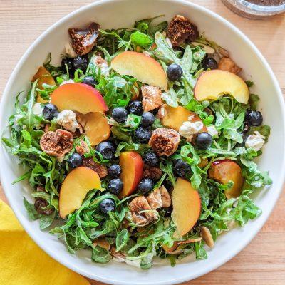 Arugula Fig Salad with Balsamic Vinaigrette